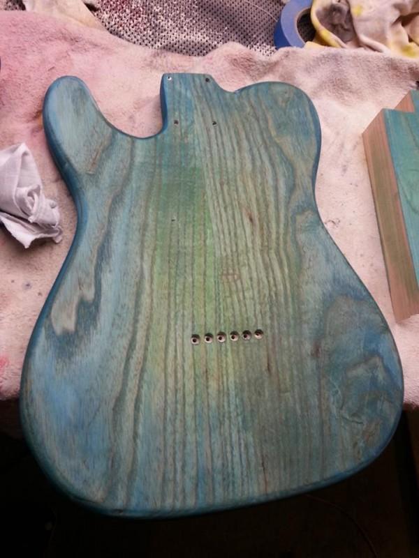 Dye, step 2, back